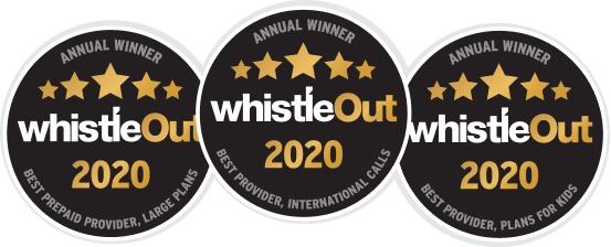 WhistleOut awards 2020