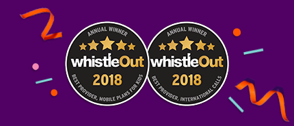 Annual Winner WhistleOut 2018