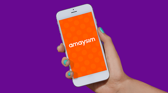 amaysim app for iOS & Android