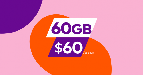 60GB UNLIMITED Mobile Plan