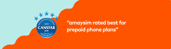 amaysim canstar award for best prepaid phone plan