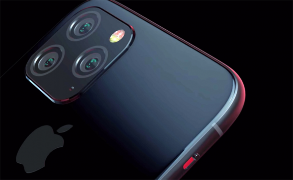 iPhone 11 Camera Render (Triple Lens)