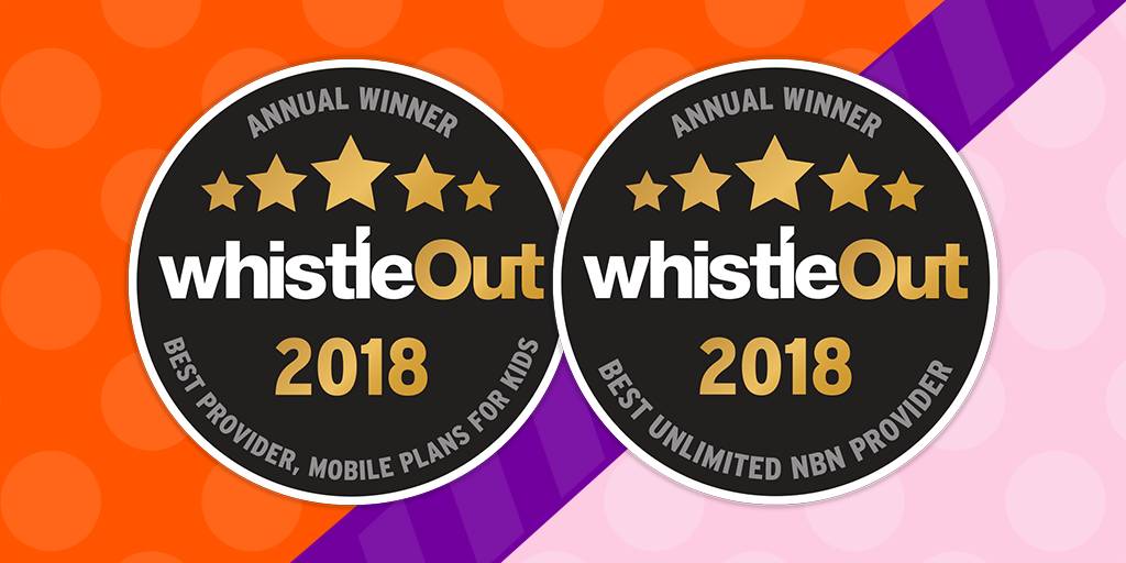 amaysim strikes gold at the 2018 WhistleOut Awards