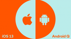 iOS 13 vs Android Q