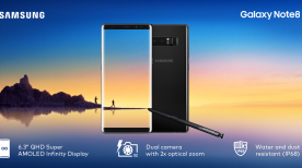 The best features of the Samsung Galaxy Note8
